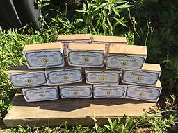20 Bars of Turpentine Soap 20 bars of handcrafted Turpentine Soap. Each bar is approximately 4.5 oz. ($11.30 shipping via USPS Priority Mail)