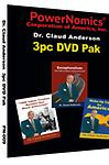 PN-009 Specially Priced 3PK DVD - 3 Powerful DVD set consisting of Dr. Anderson's newest release Exceptionalism: The Path to Black Empowerment, plus Wake-Up call for America and 1866 Indian Treaties