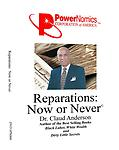 PN-004 Reparations: Now or Never - PowerNomics Series DVD
