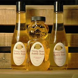Honey Bear Bubble Bath Relax from your stressful day with the scent of calendula flower and honeyquat. These scents will aid your body in unwinding from your busy day.