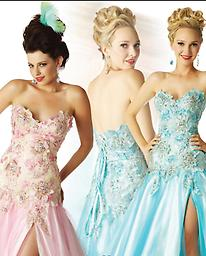 Aqua Mac Duggal 4266H If you love floral patterns accentuated by a strapless sweetheart neckline, then you will definitely go for this work by Mac Duggal 42661H. You can show a little bit of leg in this full-length A-line.
