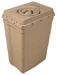 12 Gallon Safe Keeper Designed for long term storage- the 12 gallon Safe Keeper is hermetically sealed and suitable for above and underground storage.