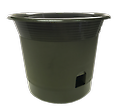 """8"""" EEZY-GRO Planter - Wick system draws the moisture from the reservoir up into the soil, allowing the plant to feed at its own rate, helping to prevent root rot due to over watering. Poly-cotton wick will not rot."""