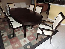 Macy039s Quinton Dining Room Table And Leaf