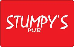 Stumpy's Pub Gift Card Sold in $25 increments.
