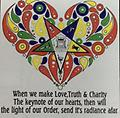 OES Love, Truth & Charity T-Shirt - White T-Shirt