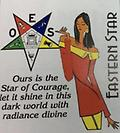 OES Star of Courage T-Shirt - White T-Shirt