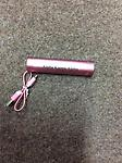 AKA Power Bank (OUT OF STOCK) - AKA pink power bank charger with Cord