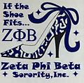 Zeta If The Shoe Fits T Shirt - White T Shirt.