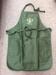 AKA Apron (OUT OF STOCK) Green aka apron with shield
