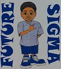 Sigma Kids Future Sigma T Shirt - White kids future sigma t shirt. newborn sizes are also available just leave the size in the note box