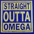 Omega Straight Outta T-Shirt - Purple straight outta omega shirt