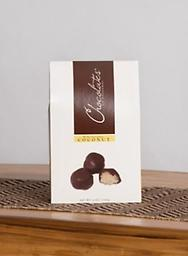 Dark Chocolate Covered Coconut-Grab & Go Moist, chewy coconut encompassed in rich dark chocolate. Sure to please any coconut lover.
