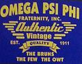 Omega Vintage T-Shirt - Purple omega shirt The bruhs the few the owt