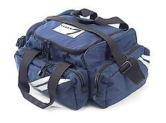 Saver Trauma Responder III Bag Save your money without compromising Quality.This dynamic bag comes with eleven padded compartments, three adjustable sections for larger equipment, two zippered side pockets, and a full front pocket.