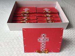 "0 - Christmas box - 10 cards ""Celebrating Christ"""