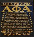 Alpha for Life T Shirt - White Alpha For Life T shirt