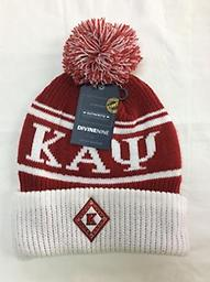 Kappa Beanie Kappa beanie with symbol, letters and puff ball