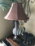 Iron & Glass Lamp - Iron & Glass Lamp