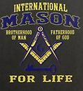 Masonic International For Life Color T-Shirt - Masonic color shirt international mason for life