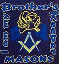 Masonic Brother's Keeper Color T-Shirt - Masonic I am my brothers keeper color t shirt
