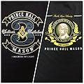 Masonic Prince Hall 3 Degrees of Light Shirt - Masonic prince hall black font and back color shirt