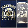 Masonic Prince Hall F&AM Color Shirt - Masonic blue and black front and back color shirt f&am look to the east making good men better