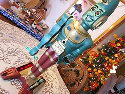 Big Loo Robot by Marx! ***SOLD 12/16/17************ BEAUTIFUL Robot, Museum Quality TALKS, with Accessories!!