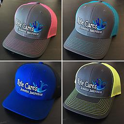 All Kyle Cares Hats All hats are adjustable