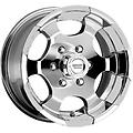 "American Racing Diamond Back Chrome 17"" Wheels F250 F350 - New Set of 4 American Racing Diamond Back Wheels