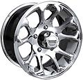 American Racing Burst Wheels 15x8 5x4.5 Polished - New American Racing Burst Wheels Polished Finish 15x8 5x4.5 -19mm offset Jeep Wrangler Ford Ranger Series 113 PN 113-5865