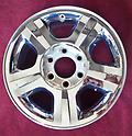 "17"" Expedition Chrome Wheels OE 17x7.5 7x135 5193 - Single New Take Off Wheel Factory