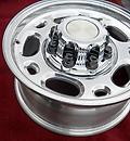 "16"" 8 lug GM Wheels & Center Caps 8x6.5 2500 HD 3500 HD - Set of four new wheels. Replica wheel to fit the 8 lug GM trucks, vans and SUVs up through 2010.