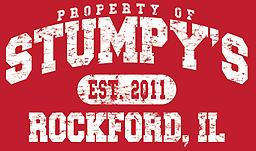 "Property of Stumpy's Hoodie Red ""Property of Stumpy's"" Hoodie"