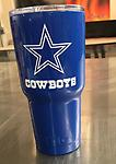 Dallas Cowboys Blue with White Logo 30 Oz. RTIC - 30 Oz. RTIC in Cowboys Blue with Logo