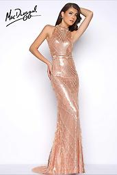 "Mac Duggal 62683 Pink Champagne There is only one thing to say ""Chante!"" Sashay!"" Do your thing on the runway in this slight mermaid gown that screams supermodel.  Style 62683 is the dress for you!"