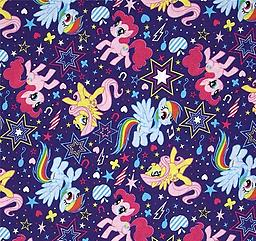 FAC- My Little Pony This adorable print will make little girls happy and eager to take naps or sleep where ever they are.