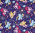 FAC- My Little Pony - This adorable print will make little girls happy and eager to take naps or sleep where ever they are.