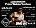"George Conner Tribute - WILL CALL Ticket to the ""Birmingham"" George Conner Tribute