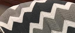 Crochet Zig Zag Blanket, Adult or Baby Saturday, May 20 & June 3
