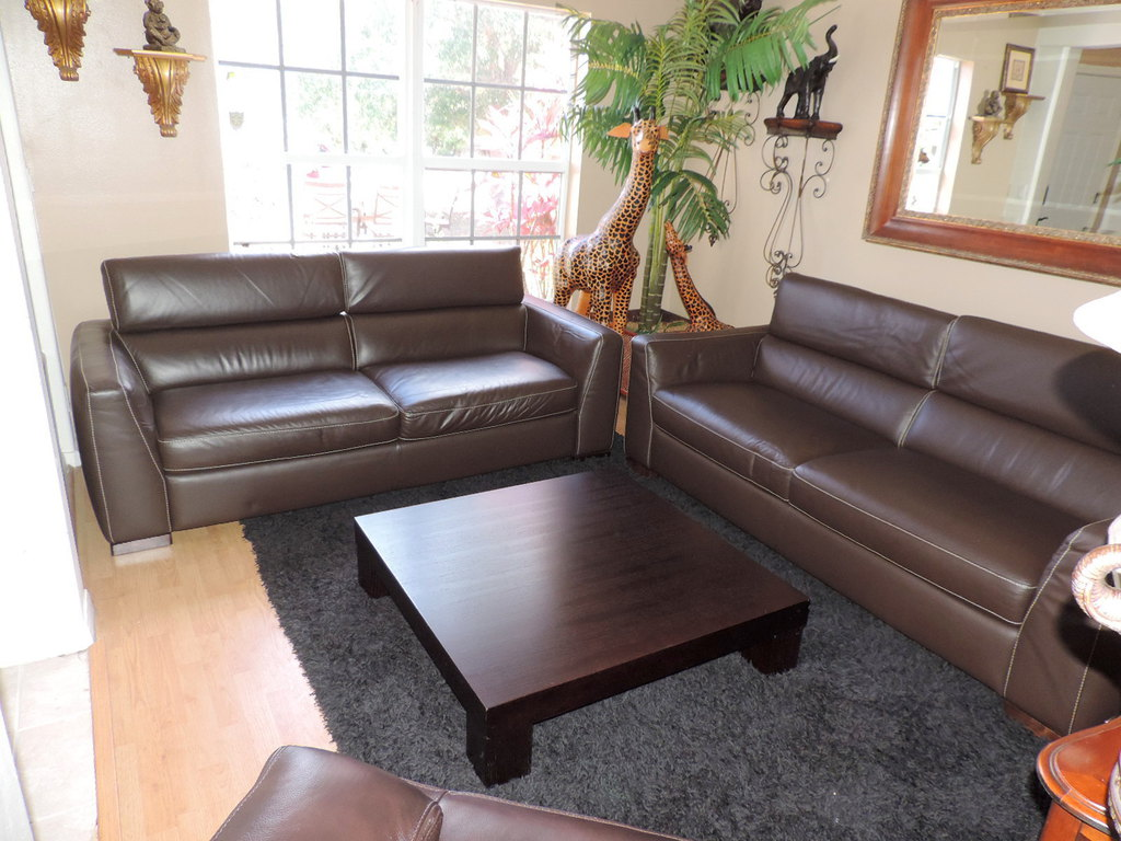 Italsofa Natuzzi Chocolate Brown