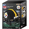 Steelers Helmet BRXLZ - 1,293 piece block puzzle fun for any fan age 6+