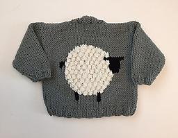 Adorable Ewe Baby Sweater With Diane Neelly