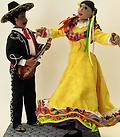 Cinco de Mayo - A mariachi and a dancer celebrate their culture and their heritage.
