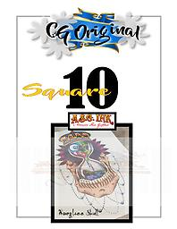 Hourglass Skull Square 10 Entry on Square 10 of 25 for Chance to WIN a CG Original $500 Value Tattoo with Mousie