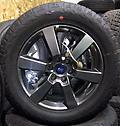 "Ford F150 20"" Charcoal Wheels & Tires - Factory charcoal wheels with all terrain tires 275/55R20 .