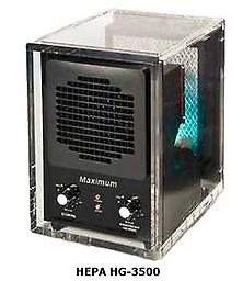 Maximum 3500A HEPA Odor Removal Machine Eliminator Ionizer Maximum Home and Office Hydroxyl - Ultraviolet - Activated Oxygen Generator is designed for the toughest jobs. This UV, hydroxyl and ozone generator will remove even the strongest odors & allergens.
