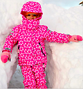 Ducksday 3-in-1/Snowboard Pants SET (Queen) - Save with this Ducksday 3-in-1 Jacket and Snowboard Pant set! Wind/Waterproof outer so kids stay dry and warm without bulk :)