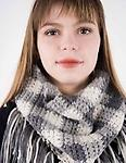 Monochrome Plaid Scarf - Multi color changing in crochet. This scarf is so awesome it will be your favorite scarf. Make it your go to gift this year. Must know basic crochet. Tuesday evenings October 17 & 24 6-8pm