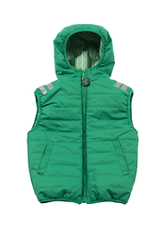 Ducksday Bodywarmer Vest (Lex) Reversible! One side printed, one solid.
